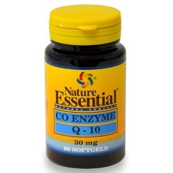 Coenzima Q10 Nature Essential, Co Enzyme Q-10, 60 cps