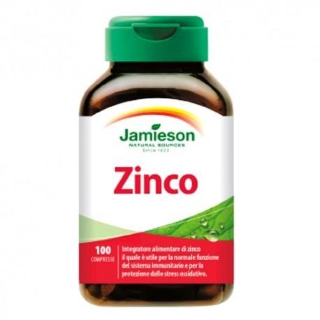 Zinco e Magnesio Jamieson, Zinco, 100cpr.