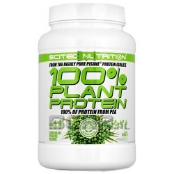 Proteine Scitec Nutrition, 100% Plant Protein, 900g.