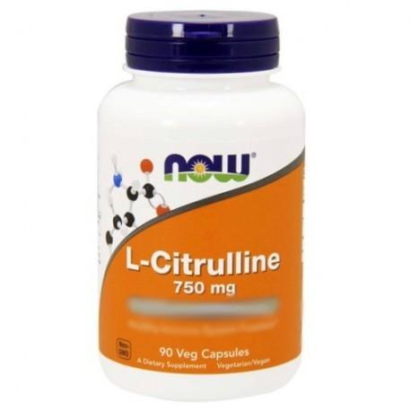 Citrullina Now Foods, L-Citrulline, 90cps.