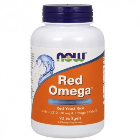Omega 3 Now Foods, Red Omega, 90 perle.