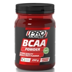 Aminoacidi Ramificati (Bcaa) Proaction Promuscle, Bcaa Powder, 250g.