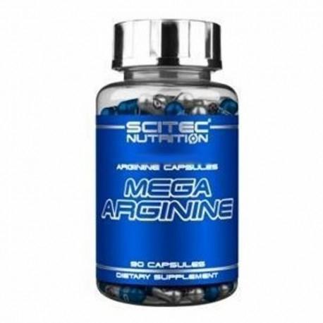 Arginina Scitec Nutrition, Mega Arginine, 90cps.