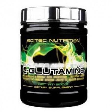 Glutammina Scitec Nutrition, L-Glutammina, 300g.