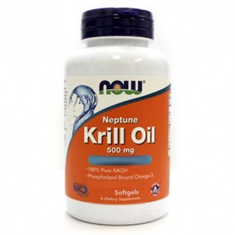 Omega 3 Now Foods, Krill Oil, 60 perle