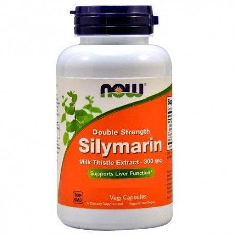 Cardo mariano Now Foods, Silymarin, 50cps.
