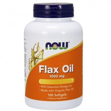 Acidi Grassi Now Foods, Flax Oil, 100cps.