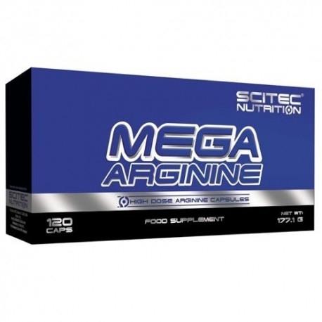 Scitec Nutrition, Mega Arginine, 120cps.