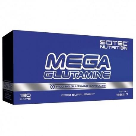 Glutammina Scitec Nutrition, Mega Glutammina, 120cps.