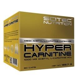 Acetil L-Carnitina Scitec Nutrition, Hyper Carnitine, 90 cps.