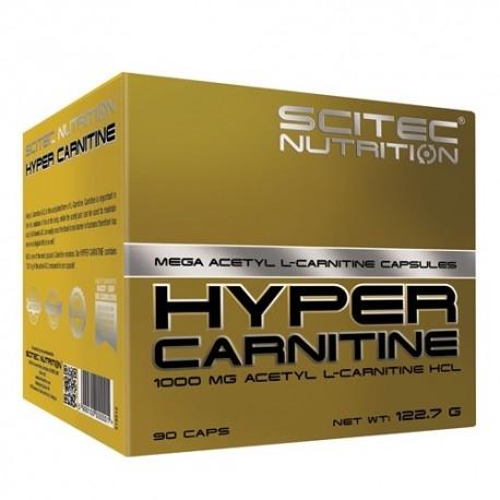 Carnitina Scitec Nutrition, Hyper Carnitine, 90 cps.