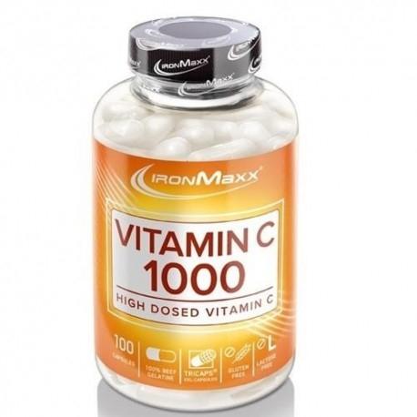 Vitamina C IronMaxx, Vitamin C 1000, 100cps.