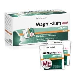 Zinco e Magnesio Sanct Bernhard, Magnesium 400, 60bustine