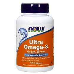 Omega 3 Now Foods, Ultra Omega-3, 180 cps.