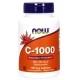 Vitamina C Now Foods, C-1000, 100cps.