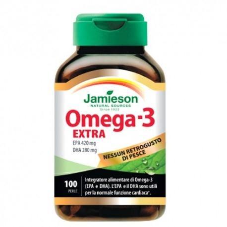 Omega 3 Jamieson, Omega-3 Extra, 100 perle