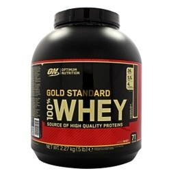 Offerte Limitate Optimum Nutrition, 100% Whey Gold Standard, 2260 g