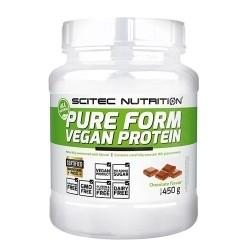 Proteine Vegetali Scitec Nutrition, Pure Form Vegan Protein, 450 g.