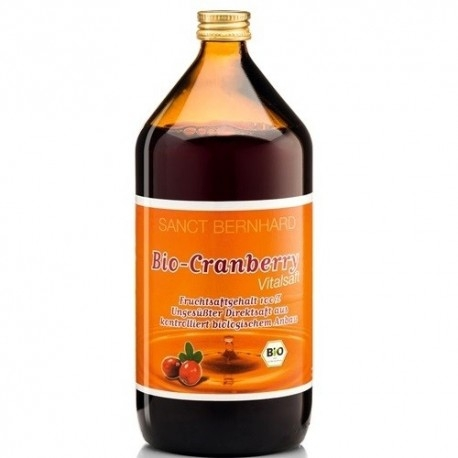 Mirtillo rosso (Cranberry) Sanct Bernhard, Cranberry, 1000ml