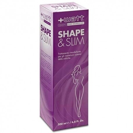 Anti-Cellulite +Watt, Shape & Slim Woman, 200 ml