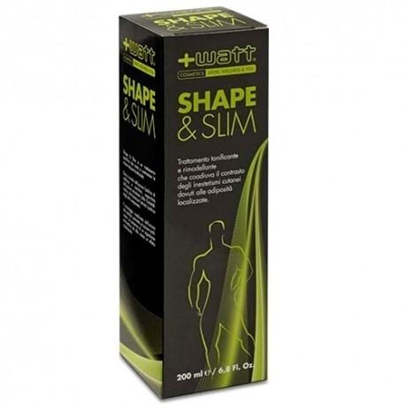 Anti adiposità +Watt, Shape & Slim Man, 200 ml
