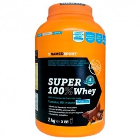 Proteine del Siero del Latte (whey) Named Sport, Super 100% Whey, 2000g.