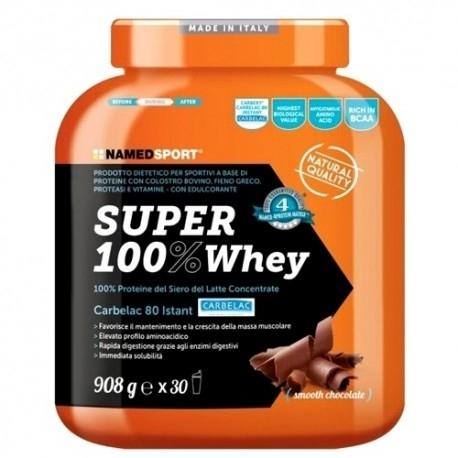 Proteine del Siero del Latte (whey) Named Sport, Super 100% Whey, 908 g.
