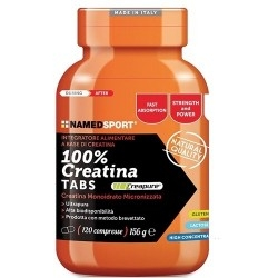 Creatina Named Sport, 100% Creatine Tabs, 120 cpr.