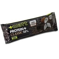 Barrette proteiche +Watt, Protein+ Classic, 1Barretta da 40 g.