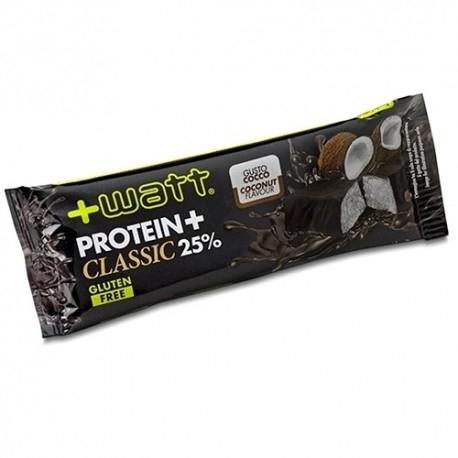 Barrette proteiche +Watt, Protein+ Classic, 1pz. da 40 g.