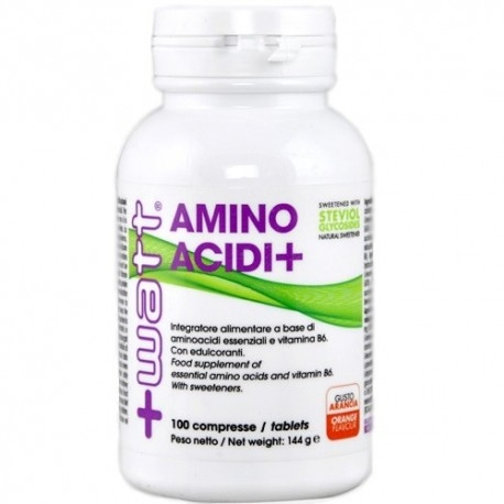 Aminoacidi essenziali +Watt, Aminoacidi+, 100cpr.