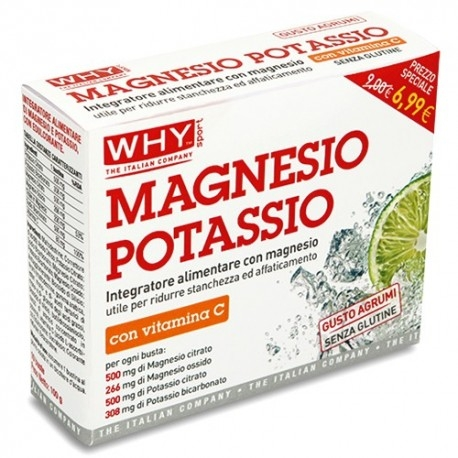 Potassio WHY Sport, Magnesio Potassio, 10bustine