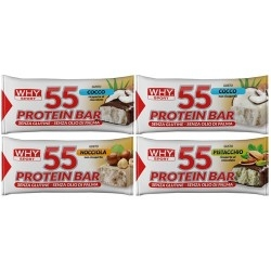 Barrette proteiche WHY Sport, 55 Protein Bar, 1 pz