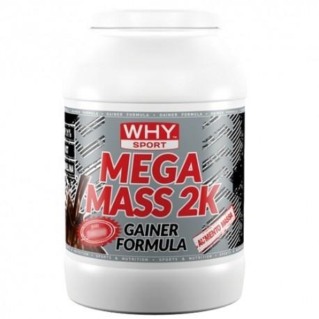 Gainers WHY Sport, Mega Mass 2K, 2000 g.