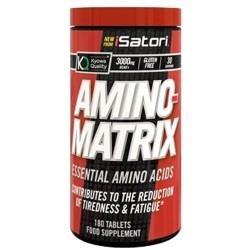 Aminoacidi essenziali Isatori, Amino Matrix, 180 cpr.