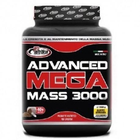 Gainers Pro Nutrition, Advanced Mega Mass 3000, 1500 g.