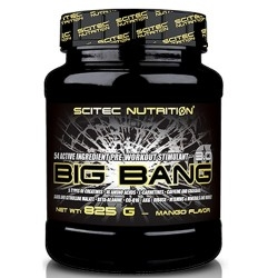 Pre Workout Scitec Nutrition, Big Bang 3.0, 825 g.