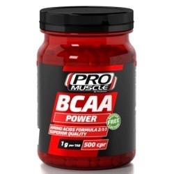 Aminoacidi Ramificati (Bcaa) Proaction Promuscle, Bcaa Power, 500tav. (Sc.03/2020)