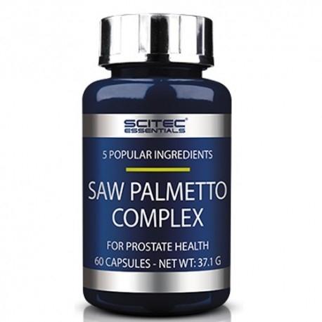 Funzionalità della prostata Scitec Nutrition, Saw Palmetto Complex, 60 cps.