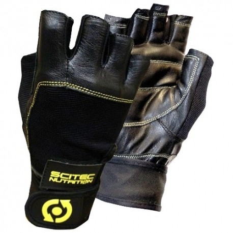 Scitec Nutrition, Guanti Yellow Leather Style