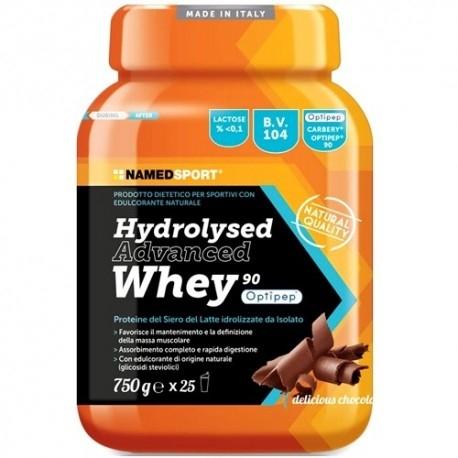Proteine del Siero del Latte (whey) Named Sport, Hydrolysed Whey 90, 750 g.