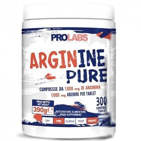 Arginina Prolabs, Arginine Pure, 300cpr.