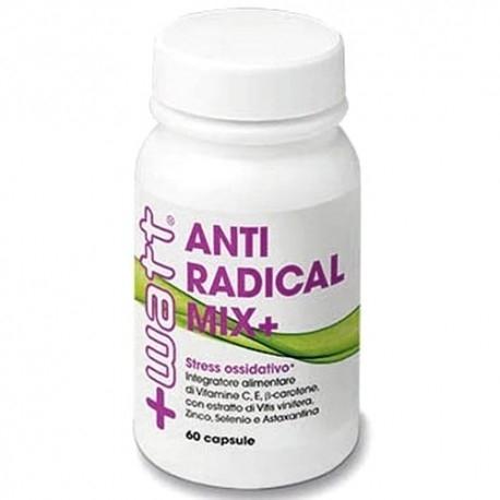 Vitamine e Minerali +Watt, Antiradical Mix +, 60cps.