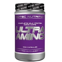 Pool di Aminoacidi Scitec Nutrition, Ultra Amino, 1000 cps.