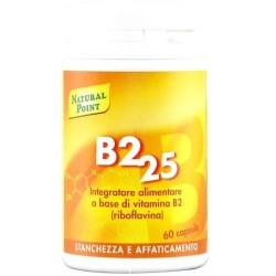 Vitamina B Natural Point, B2 25, 60 cps.