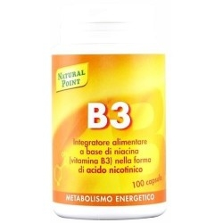 Vitamina B Natural Point, B3, 100 cps.