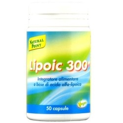 Acido lipoico Natural Point, Lipoic 300, 50 cps.