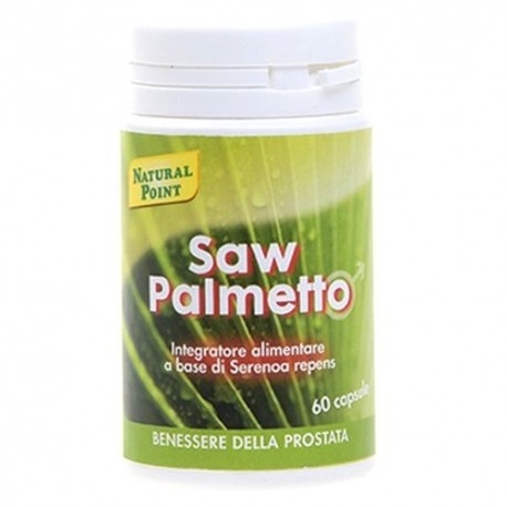 Saw Palmetto Natural Point, Saw palmetto, 60 cps.