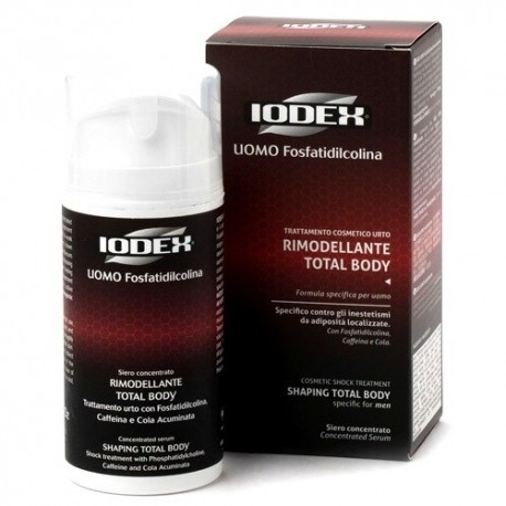 Anti adiposità Iodase, Iodex Uomo siero concentrato, 100 ml