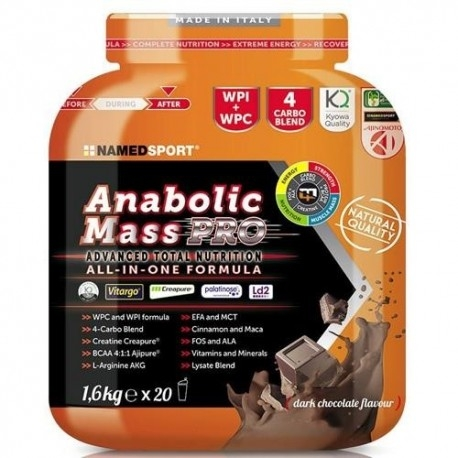 Gainers Named Sport, Anabolic Mass Pro, 1600 g.